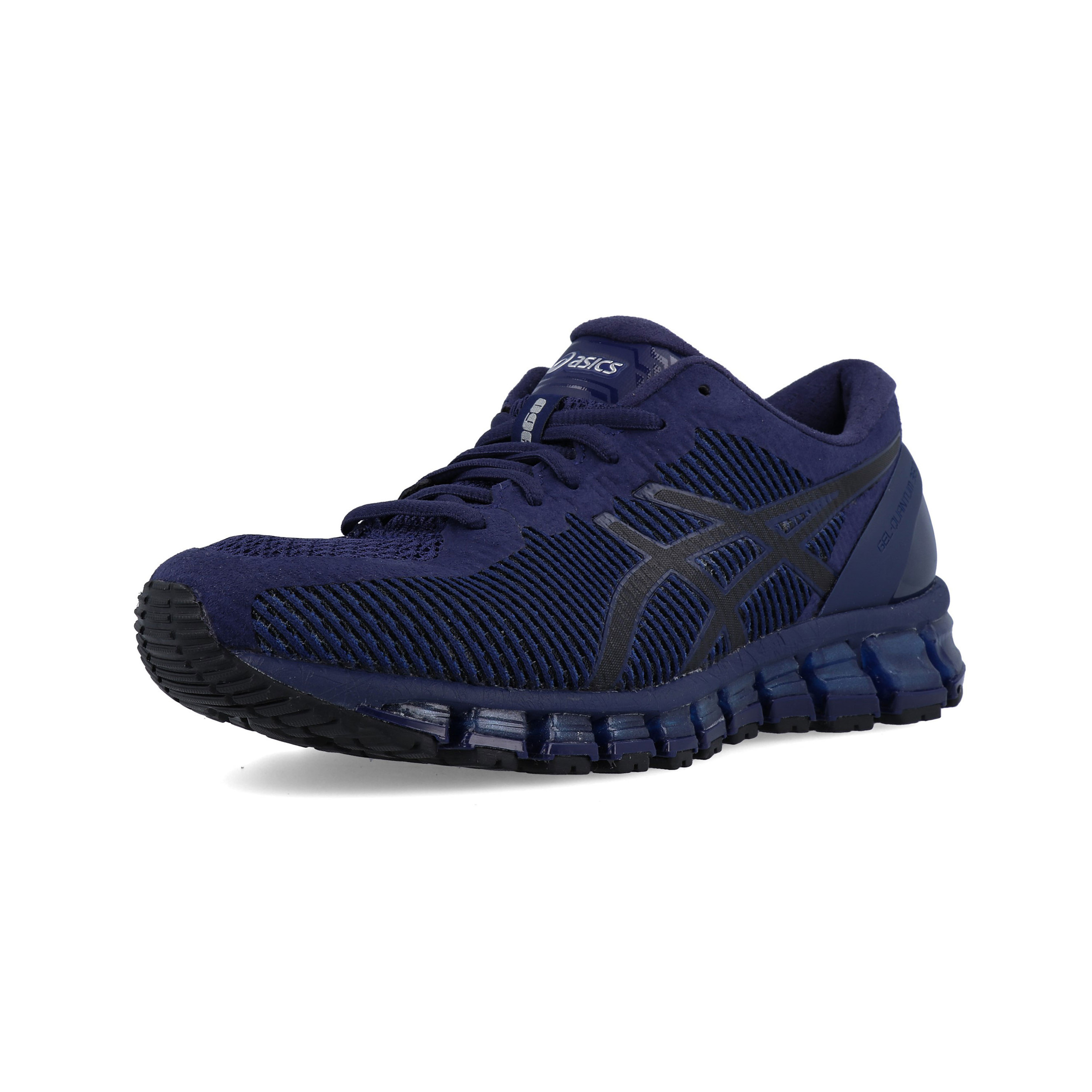 huge selection of d3e3f 7c5de Details about Asics Mens Gel-Quantum 360 Running Shoes Trainers Sneakers  Navy Blue Sports