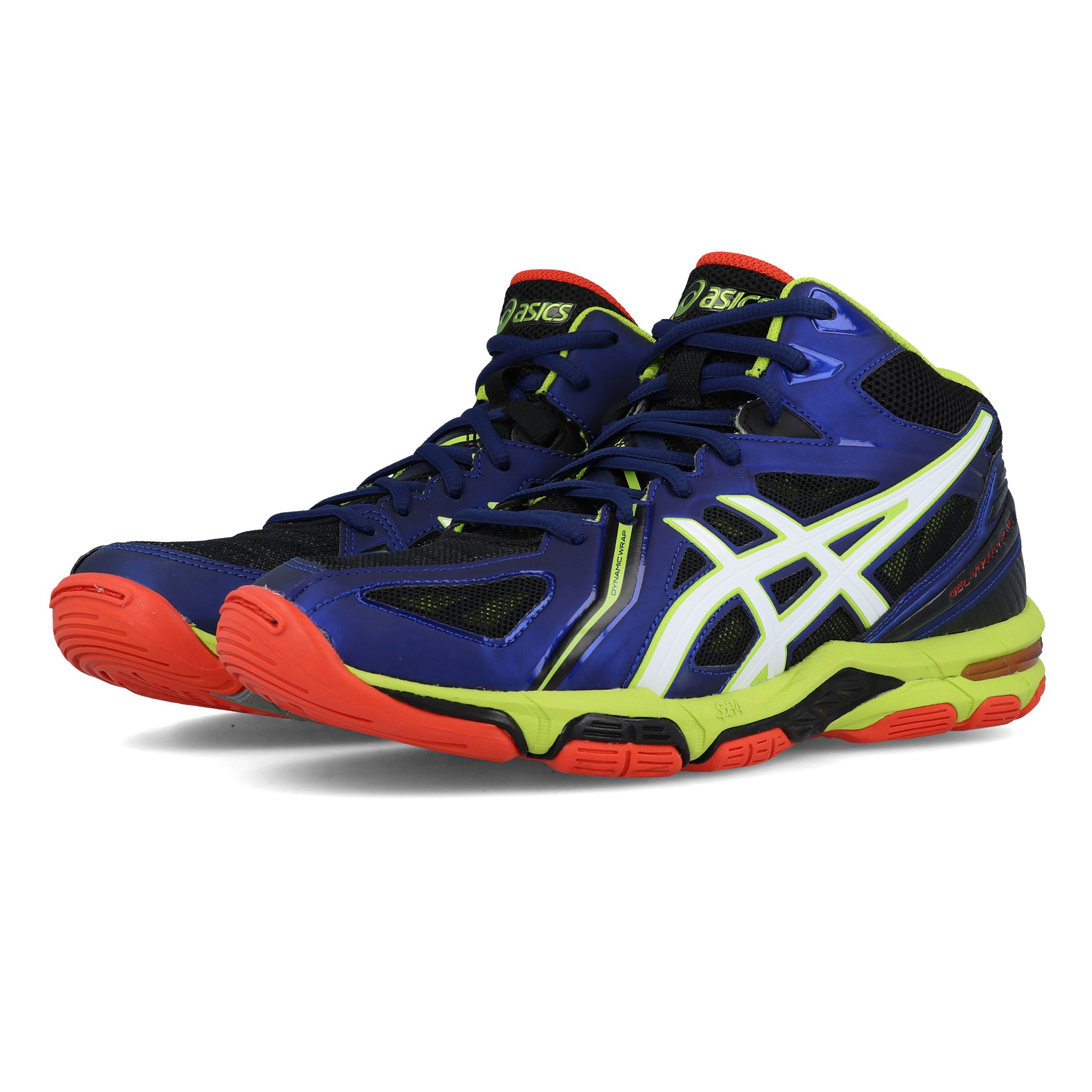 El hotel pistola Investigación  Asics Mens Gel Volley Elite 3 MT Court Shoes Blue Sports Handball Netball |  eBay