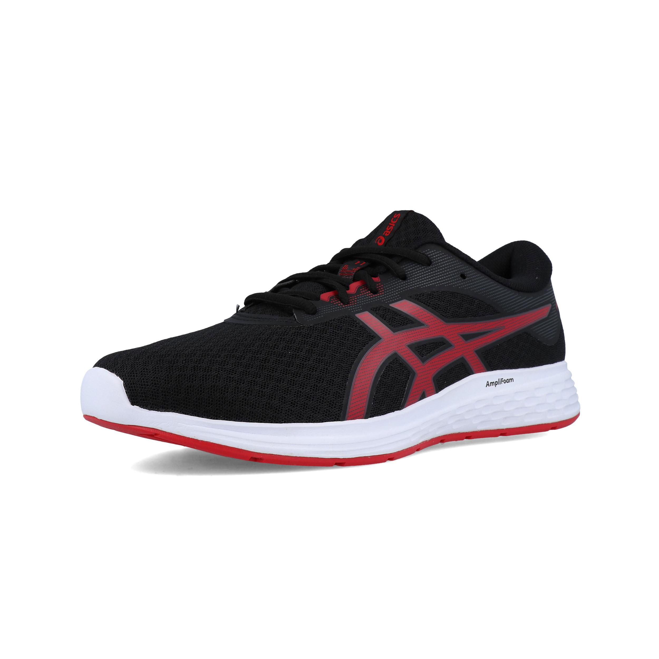 Dettagli su ASICS Uomo Patriot 11 Scarpe Da Corsa Ginnastica Sport Sneakers Nero Rosso