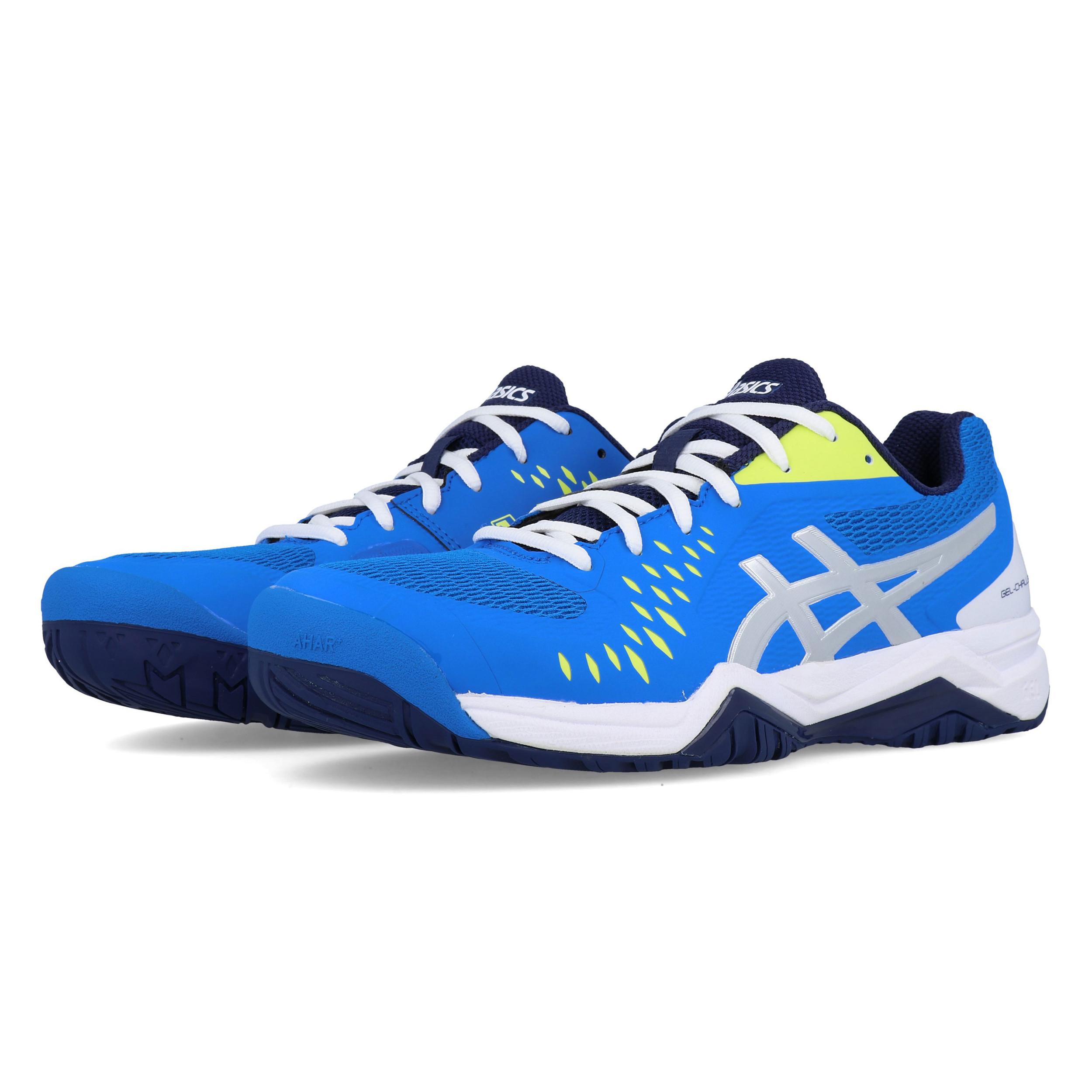 Dettagli su ASICS Uomo Gel Challenger 12 Tennis Scarpe Blu Sport Traspirante Leggero