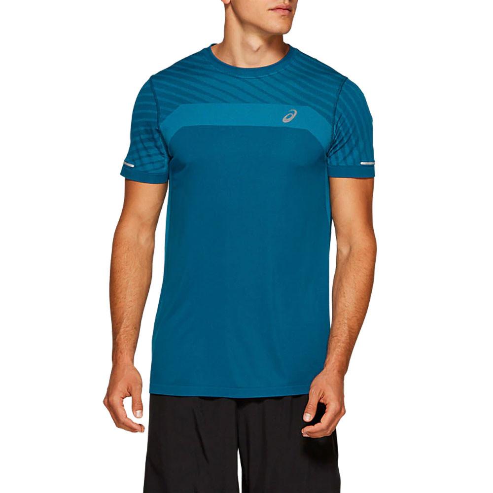 ASICS sin costuras Texture camiseta de running - AW19