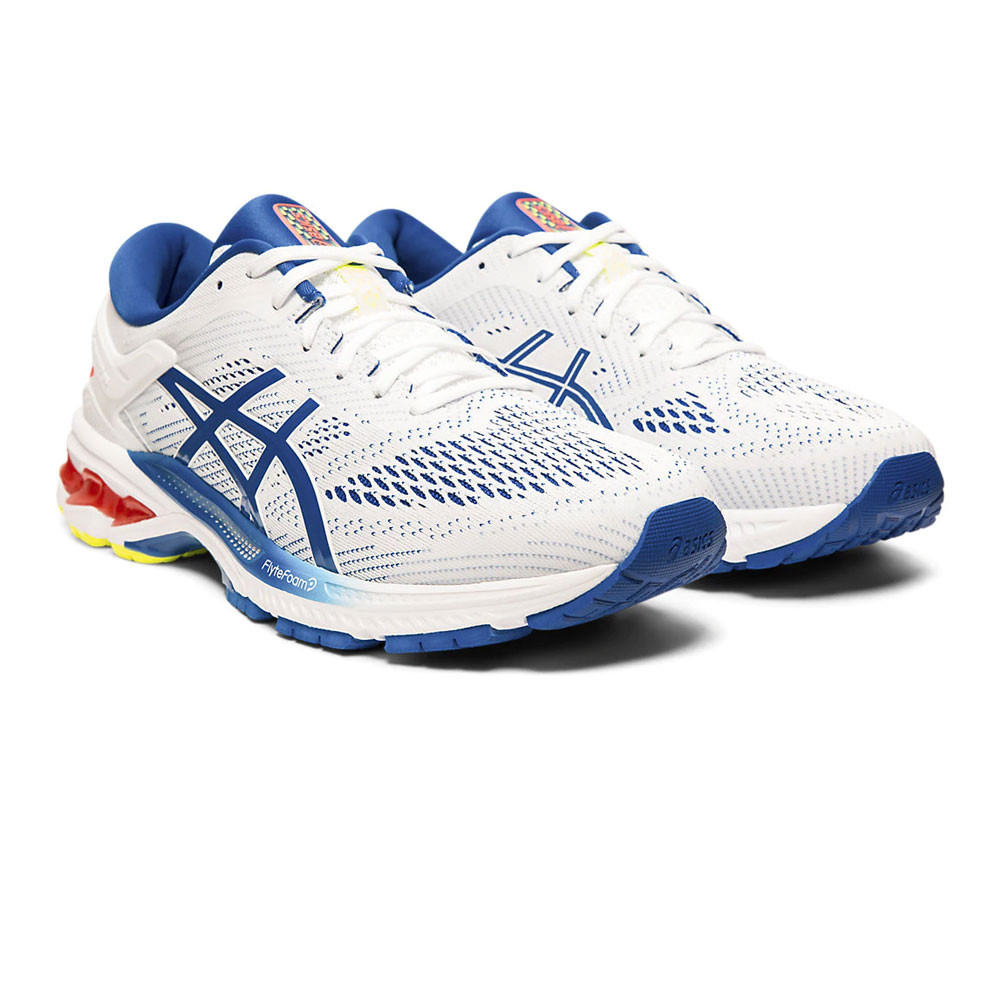 mens white asics trainers