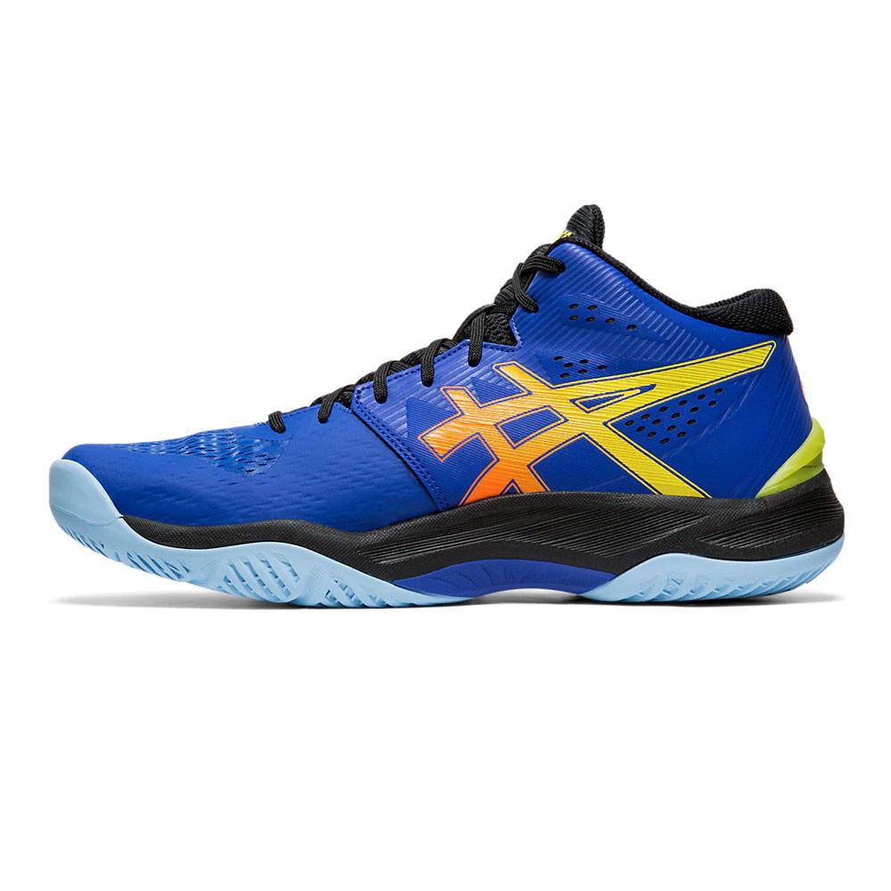 Détails sur Asics Hommes Sky Elite FF MT Volleyball Chaussures De Sport Baskets Bleu