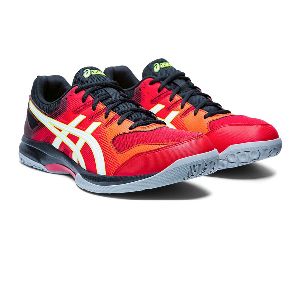 new products huge discount popular design Details about Asics Mens Gel-Rocket 9 Indoor Court Shoes - Red Sports  Squash Badminton Netball