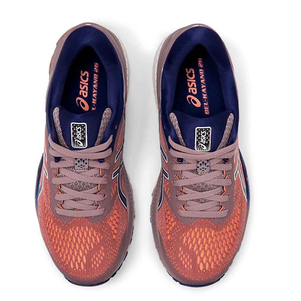 Dettagli su ASICS Donna Gel Kayano 26 Scarpe Da Corsa Ginnastica Sport Sneakers Arancione