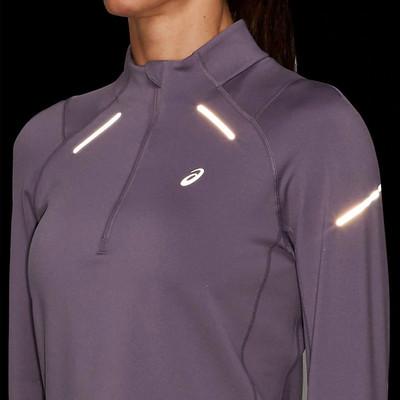 ASICS Lite-Show 2 Winter Long Sleeve Half Zip Running Women's Top - AW19
