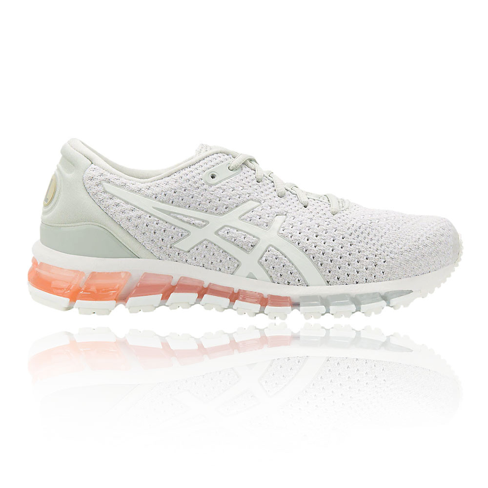 official photos 78cf4 b872d Details about Asics Womens Gel-Quantum 360 Knit 2 Running Shoes Trainers  White Sports