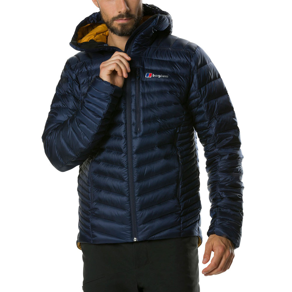 low priced 657e7 a6026 Details about Berghaus Mens Extrem Micro 2.0 Down Jacket Top Navy Blue  Sports Outdoors Full