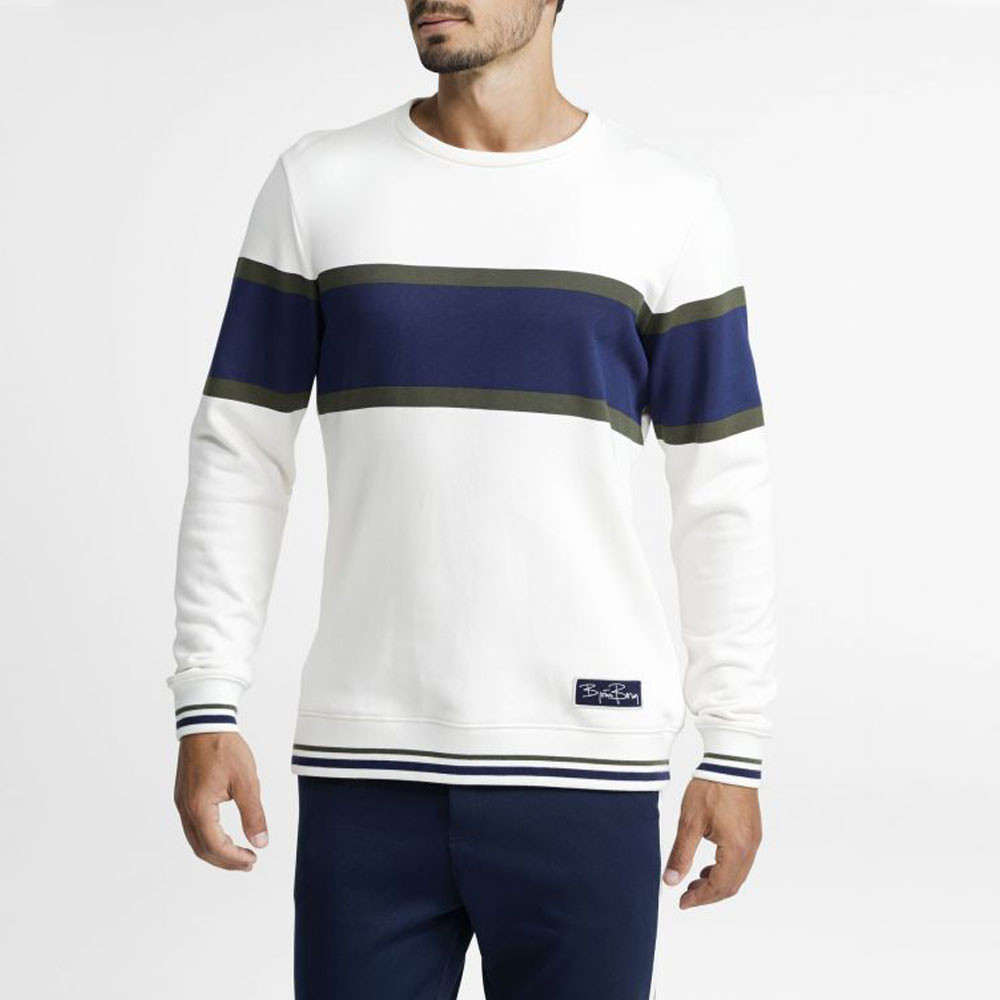 Bjorn Borg Archive Crew Neck Jet Stream Long Sleeve Top