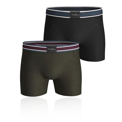 Bjorn Borg Archive Cotton Stretch Shorts (2 Pack)