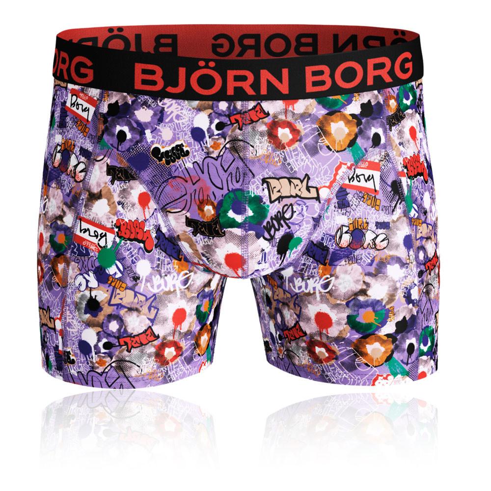 Bjorn Borg Graffiti Wall Microfiber Shorts - AW19