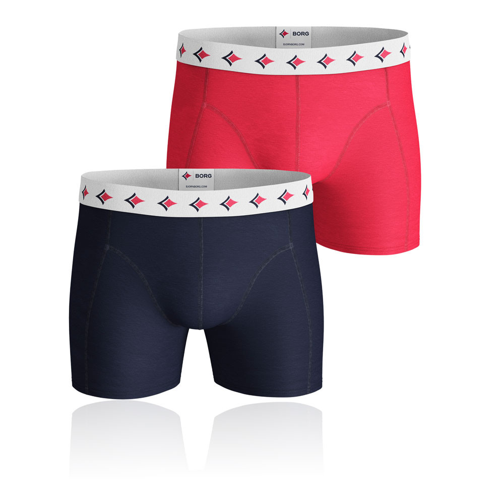 Bjorn Borg Archive Solid Shorts (2-pack) - AW19