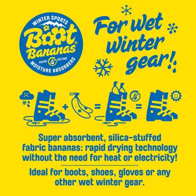 Boot Bananas Winter Sports Moisture Absorbers - AW19