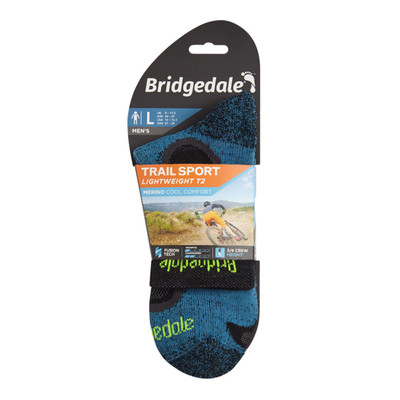 Bridgedale trail SPORT Lightweight T2 3/4 Crew Merino Cool Comfort - SS20