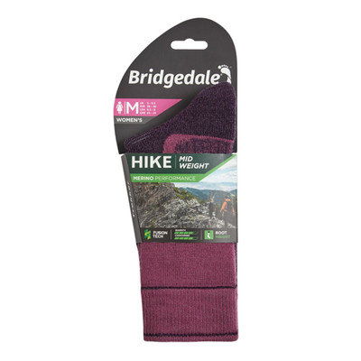 Bridgedale HIKE Midweight Boot Merino Endurance Original Women's - AW20