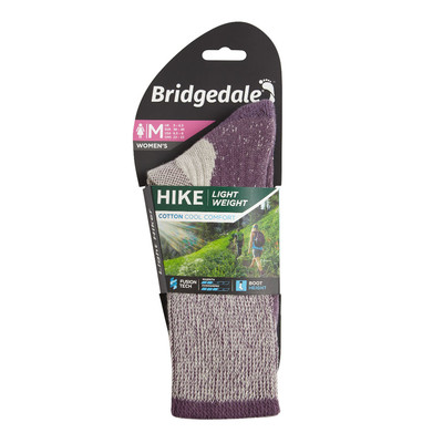Bridgedale HIKE Lightweight Cotton Cool Comfort para mujer - AW20