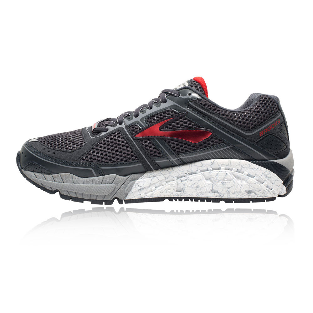6b7aeb17310 Brooks Addiction 12 Mens Black Running Road Sports Shoes .