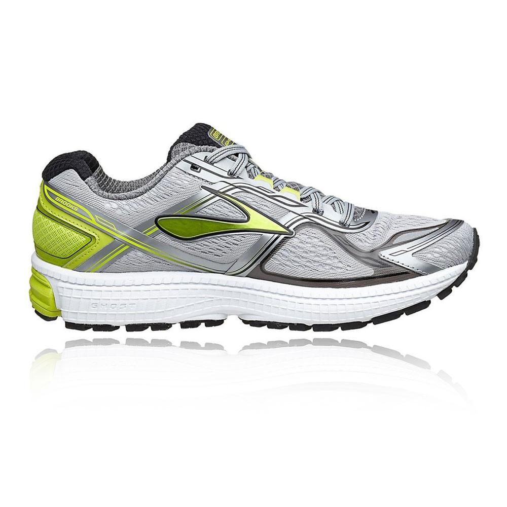 Brooks Ghost 8 Uomo verde argento Cushioned In esecuzione  Sport scarpe  esecuzione  f0f777