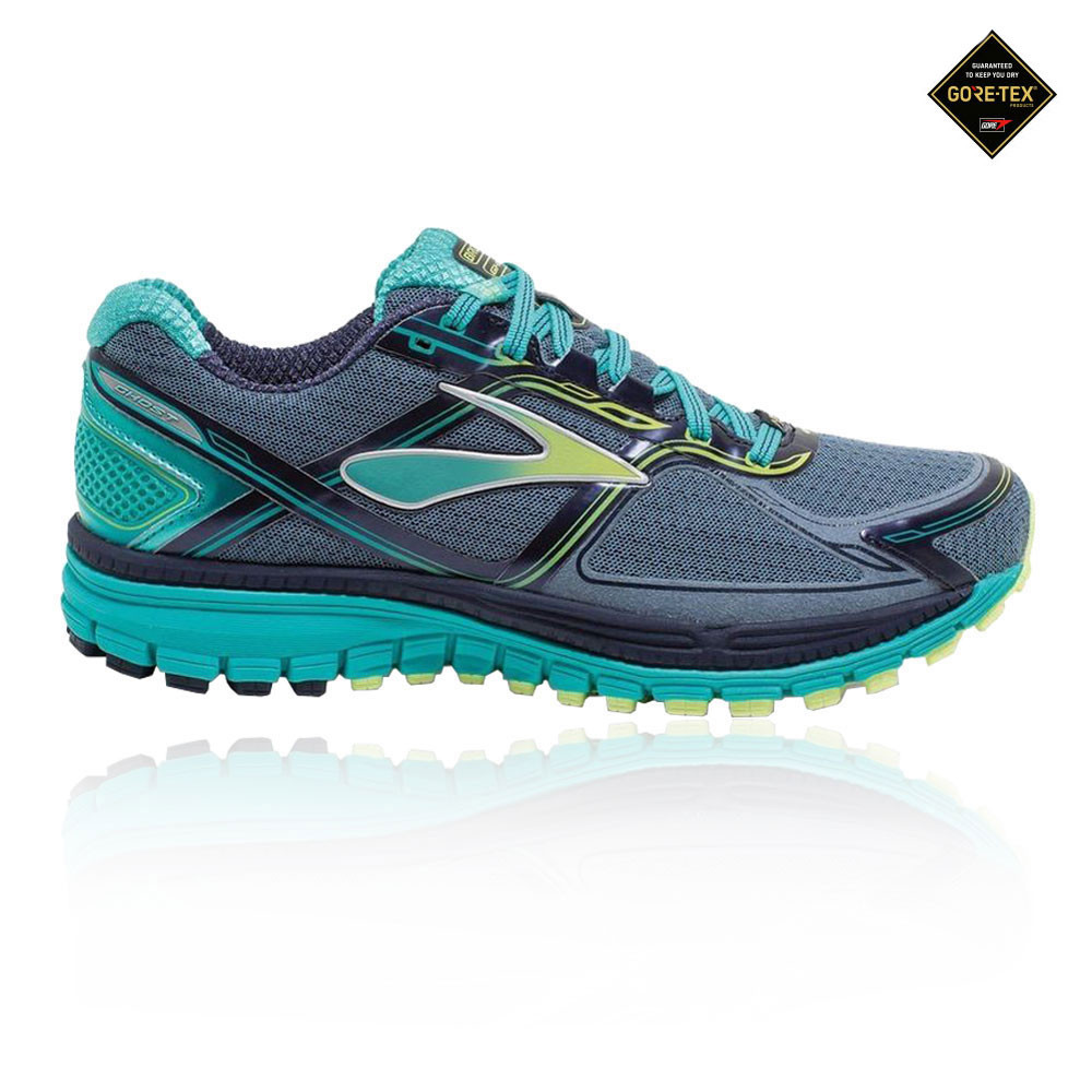 d53022ce15e7e Details about Brooks Womens Ghost 8 GORE-TEX Running Shoes Trainers  Sneakers Blue Sports
