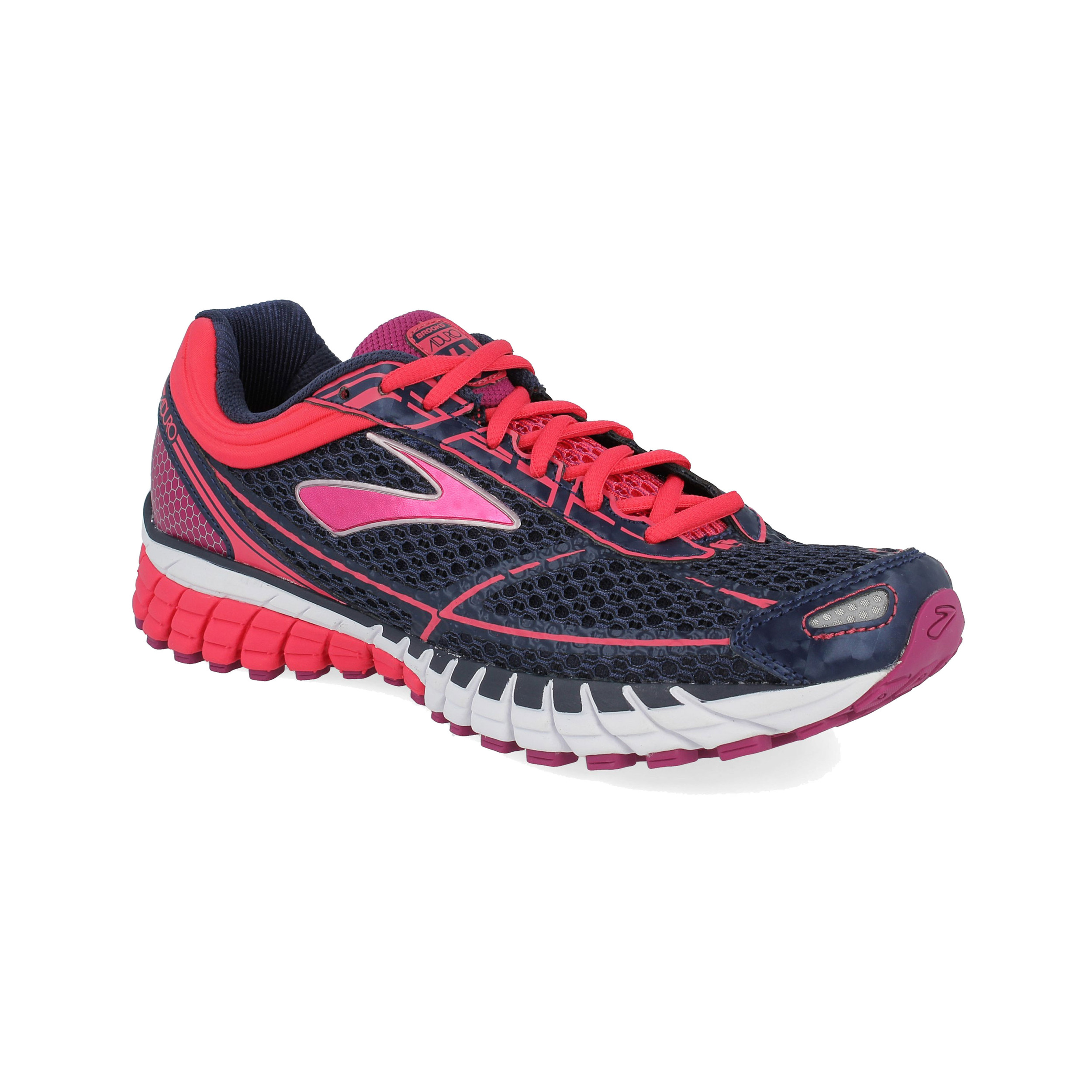 9d58f43a45 Brooks Damen Aduro 4 Jogging Schuhe Turnschuhe Laufschuhe Sneaker Blau Sport