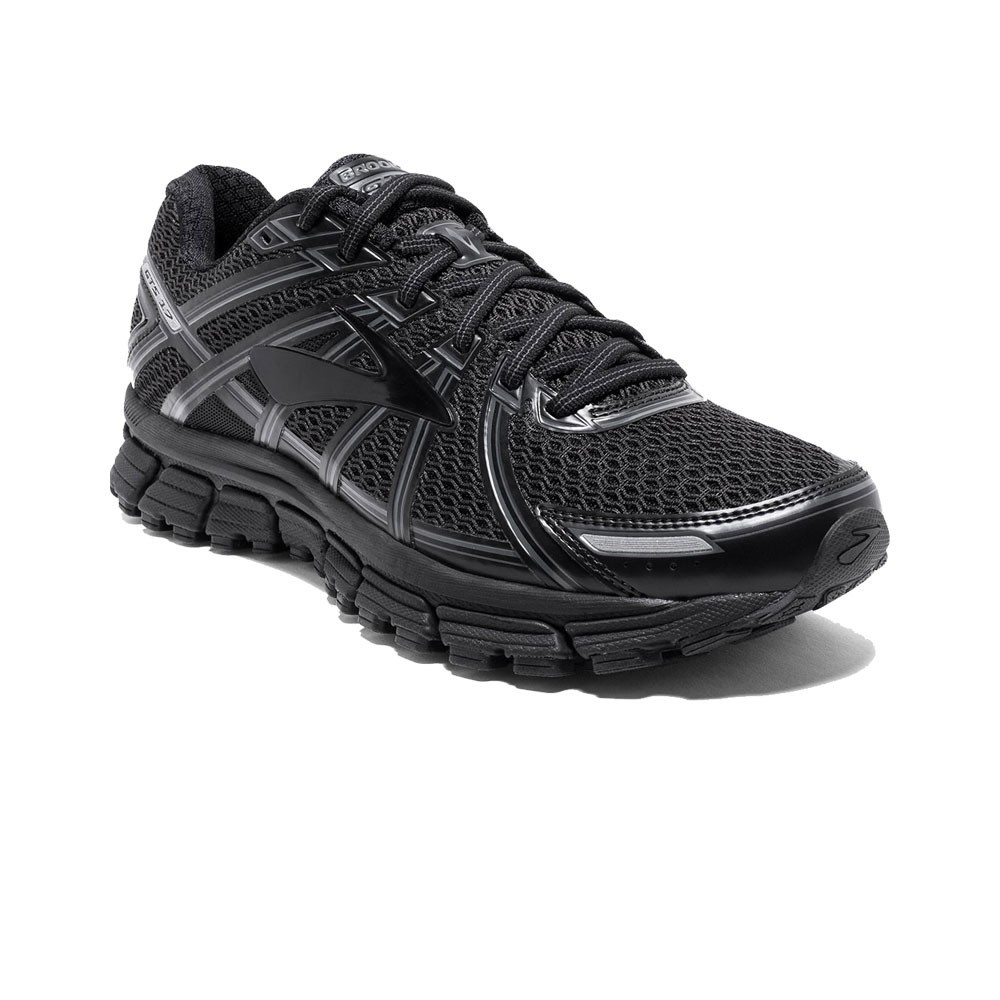 9a99f4c8f7e Brooks Womens Adrenaline GTS 17 Running Shoes Trainers Sneakers Black Sports