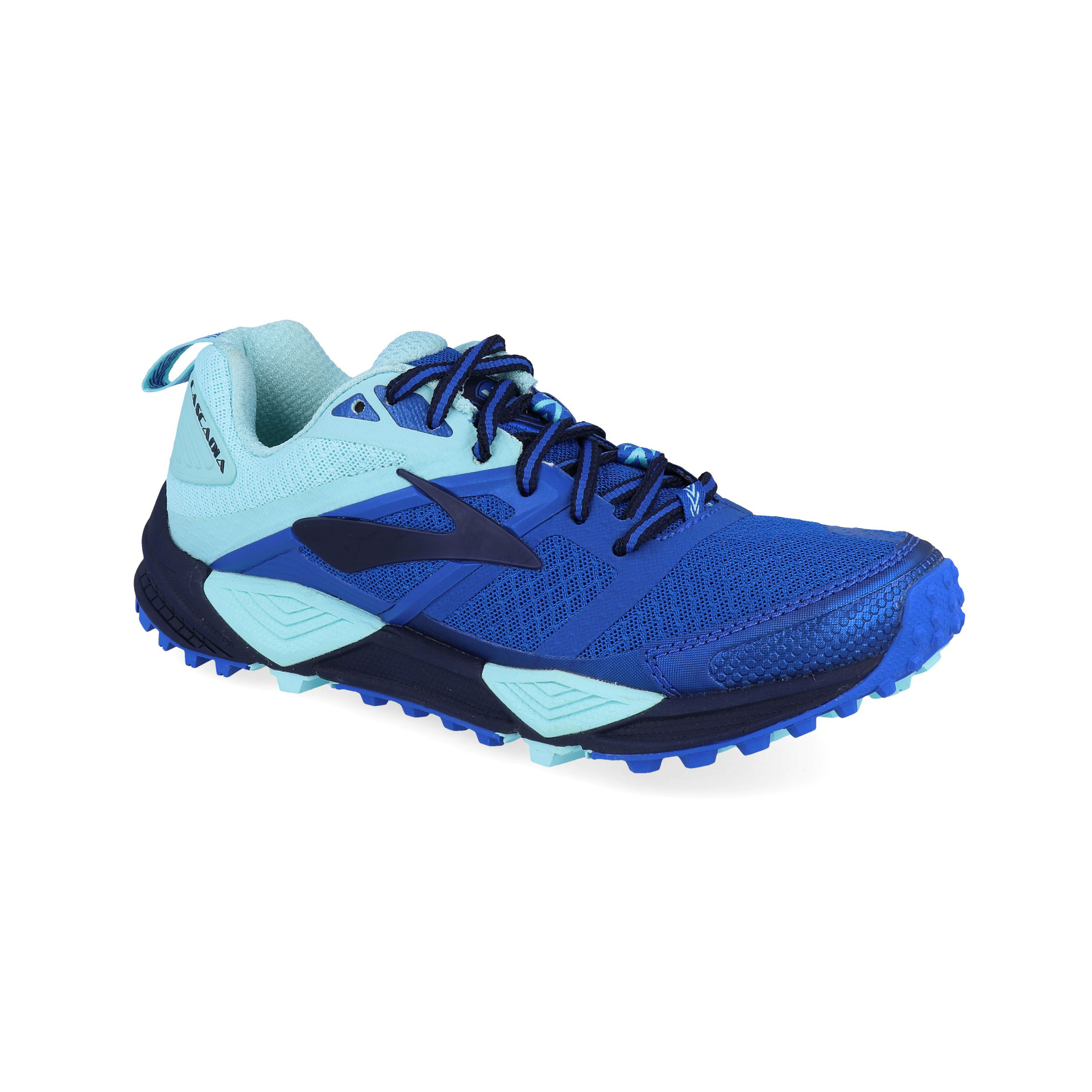 f4af4e1034215 Brooks Womens Cascadia 12 Trail Running Shoes Trainers Sneakers Blue Navy  Sports