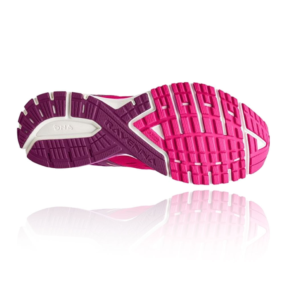 Brooks Womens Ravenna 9 Running Shoes Trainers Sneakers Pink Sports Breathable