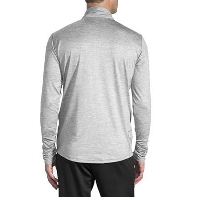 Brooks Dash media cremallera camiseta de running