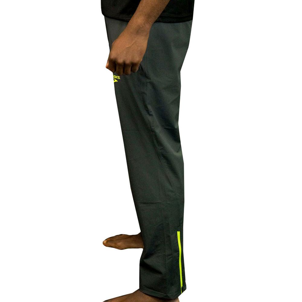 Brooks Mens Elite Pant Black Sports Running Breathable Lightweight
