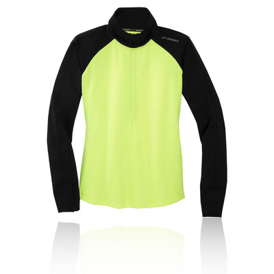 Brooks Dash 1/2 Zip Nightlife Running Top