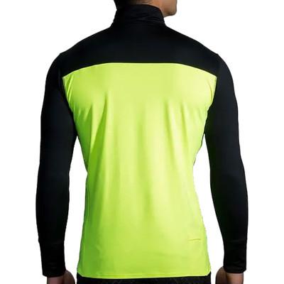 Brooks Dash 1/2 cremallera Nightlife camiseta de running