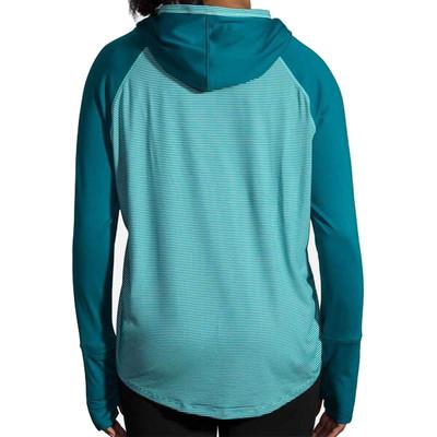 Brooks Dash para mujer Hooded camiseta de running