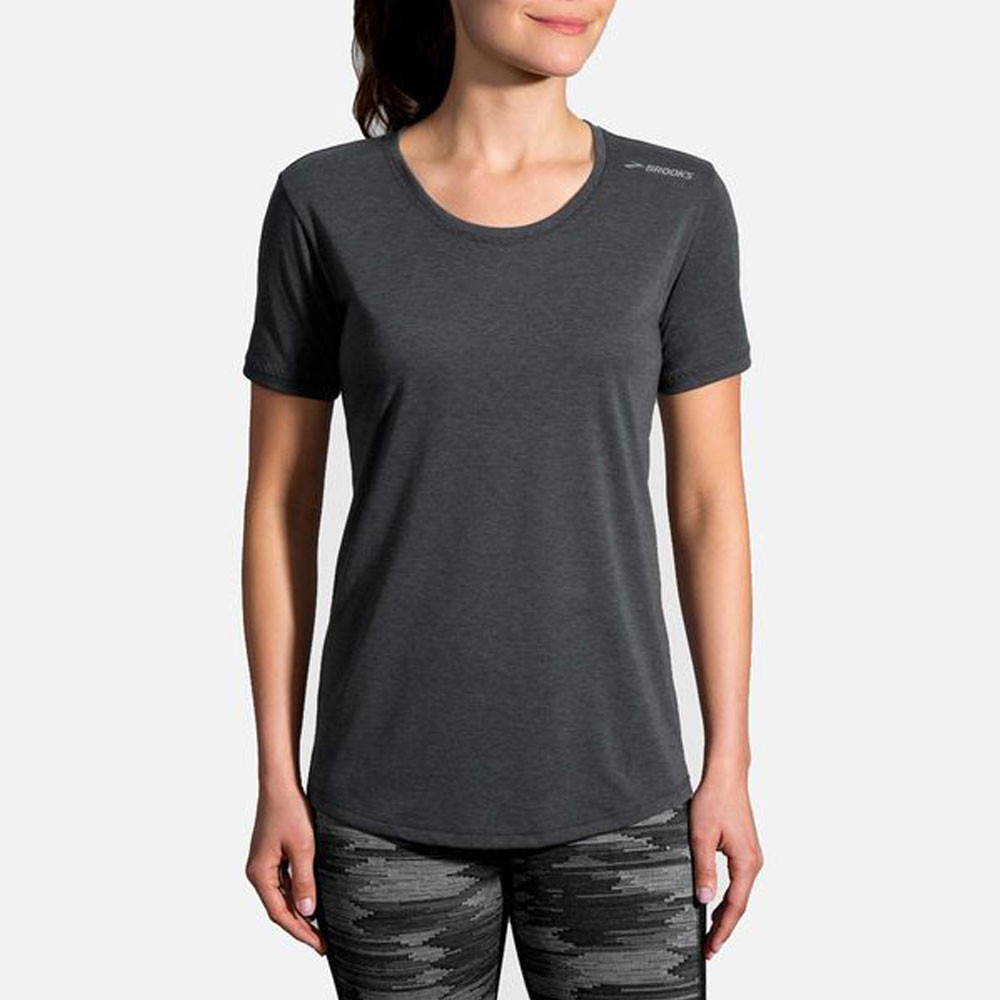 Brooks Damen Distance Lauf-T-Shirt
