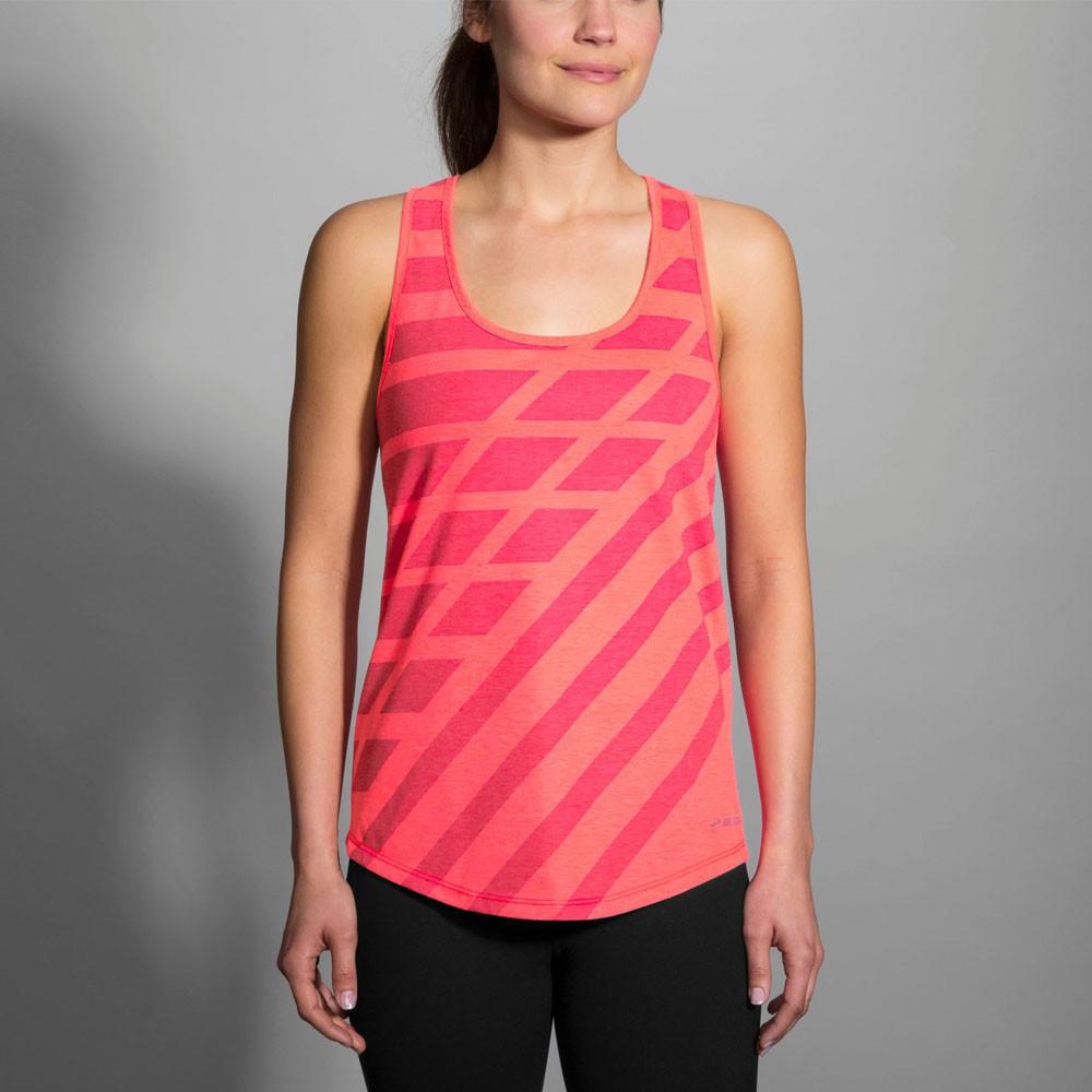 Brooks Distance Camiseta sin mangas de running para mujer