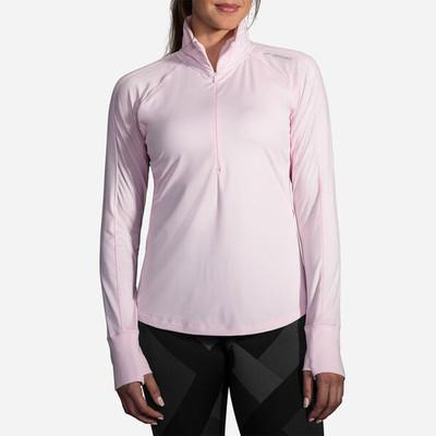Brooks Dash para mujer 1/2 cremallera camiseta de running