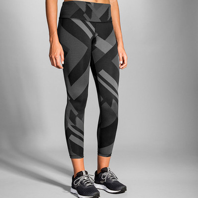 Brooks para mujer Formation Crop mallas