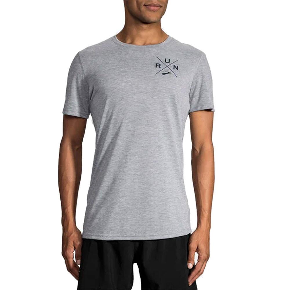 Brooks Distance Graphic Running T-Shirt
