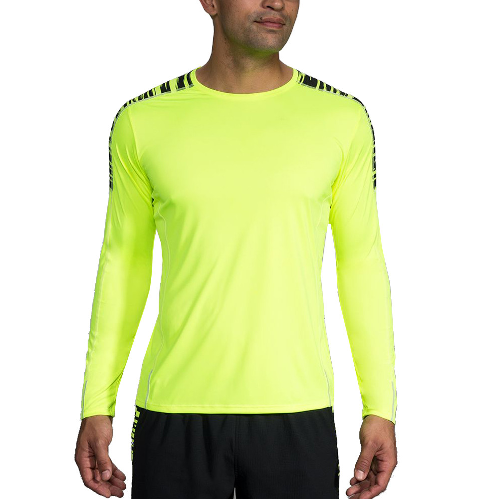 Brooks Nightlife Long Sleeve Running Top