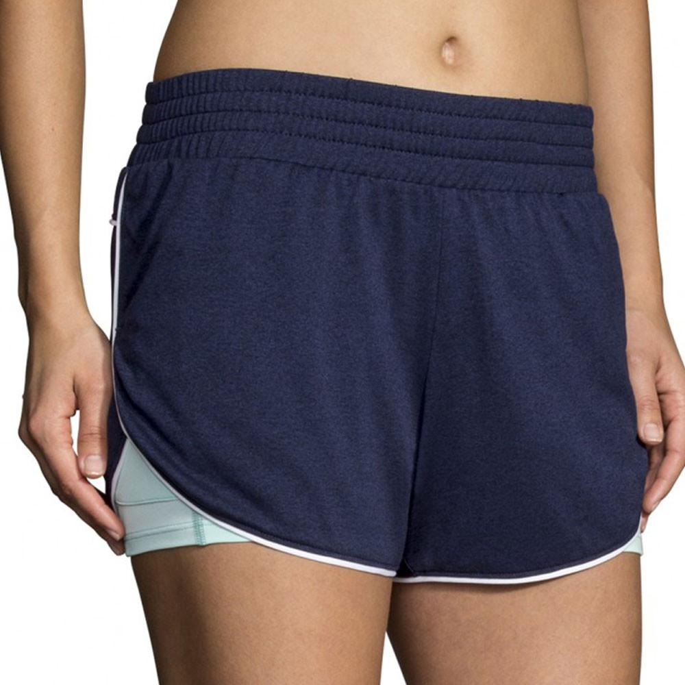 Brooks Rep 2-In-1 Women's Running Shorts