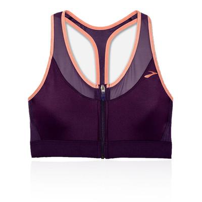 Brooks FastForward Zip Women's Running Sports  Bra