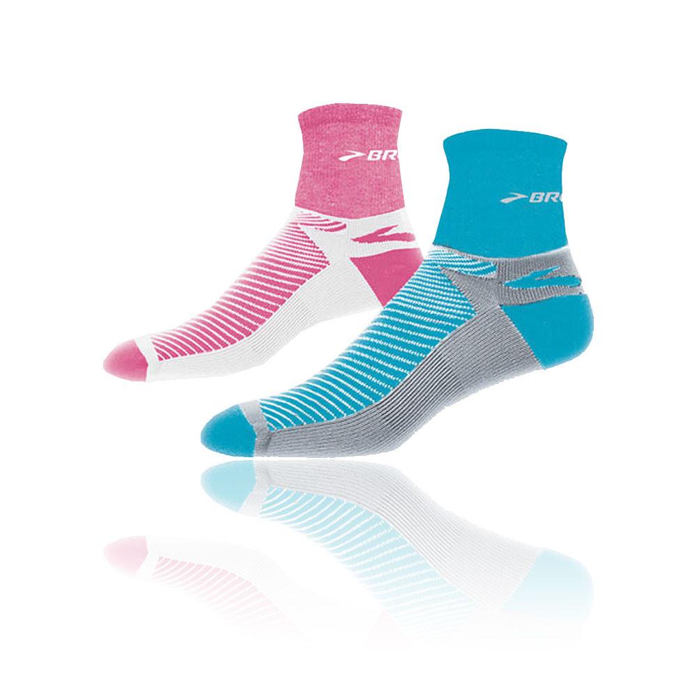 Brooks Glycerin Quarter Running Socks