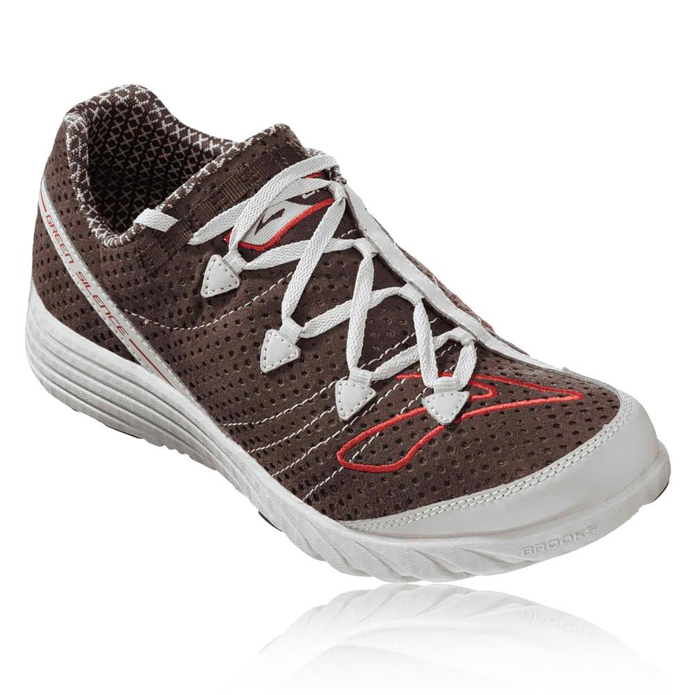 Brooks Green Silence Running Shoes