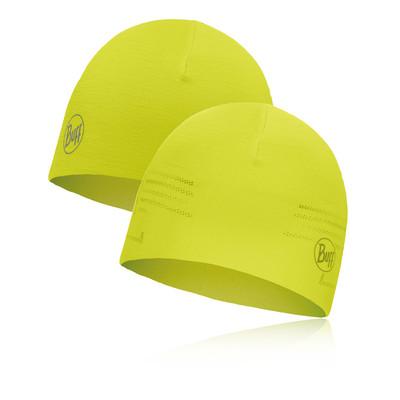 Buff RSolid Yellow Fluor Microfiber Reversible Hat - AW19