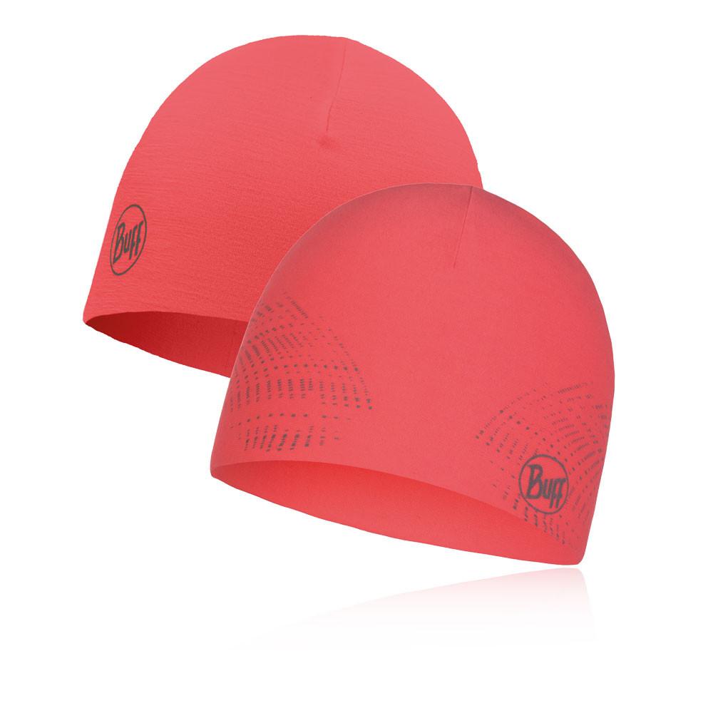 Buff RSolid Coral Pink Microfiber Reversible Hat
