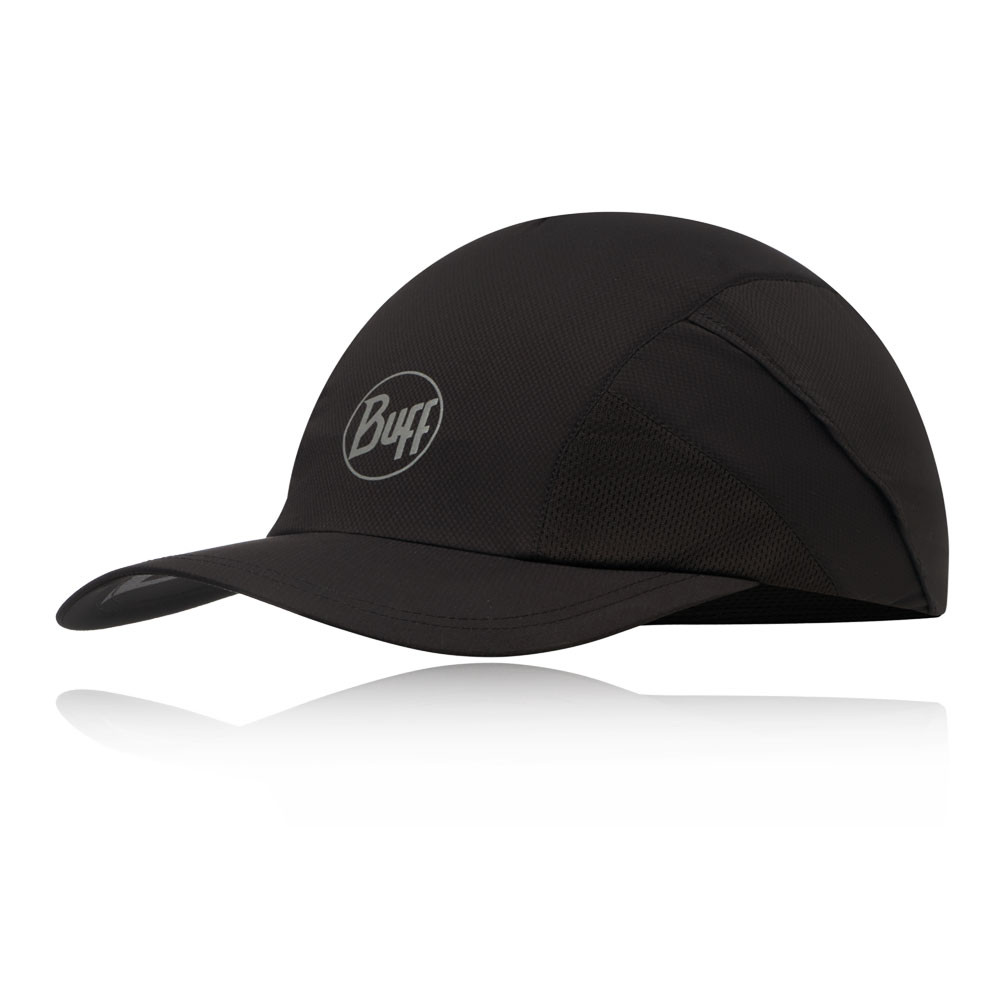 Buff RSolid Black Pro Run Cap - AW19