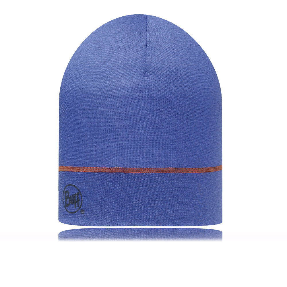 Buff SS Single Layer Hat Blue Ink (SS Merino Wool)