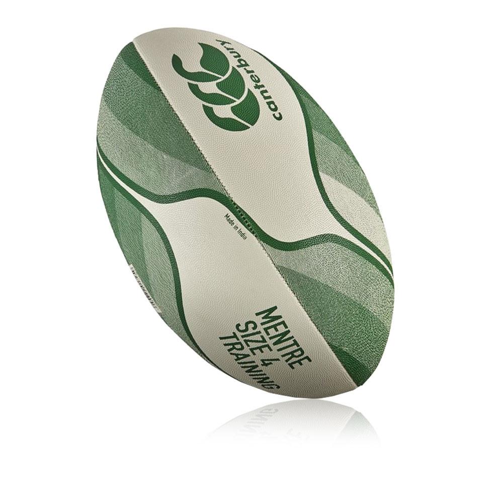 Canterbury Mentre Unisex Junior White Green Training Rugby