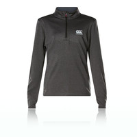 Canterbury Vapodri Girls 1/4 Zip Top