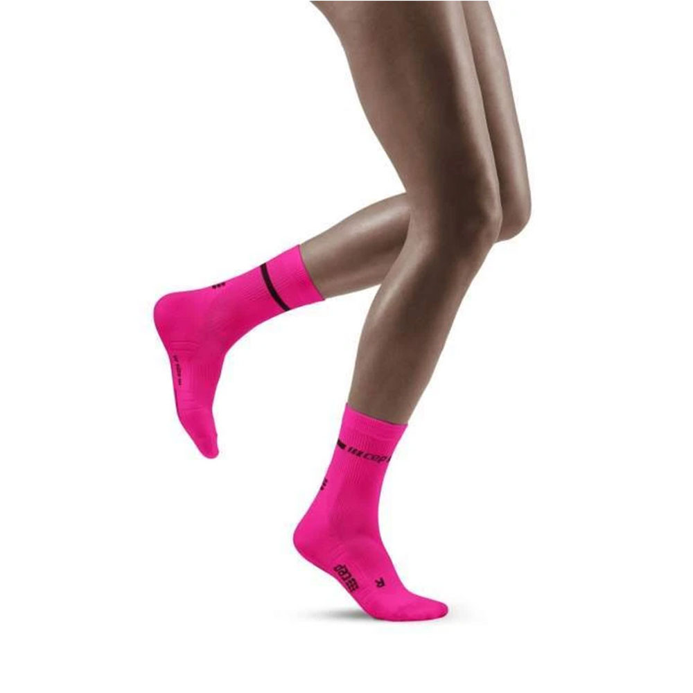 CEP Neon Compression Mid Cut Women's Socks - SS21