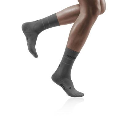 CEP Reflective Compression Mid Cut Women's Socks - SS21